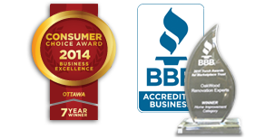 Winner BBB Marketplace trust and Consumer Choice Award