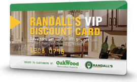 exclusive savings with Randall's VIP Card