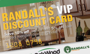OakWood Randalls VIP discount card saving