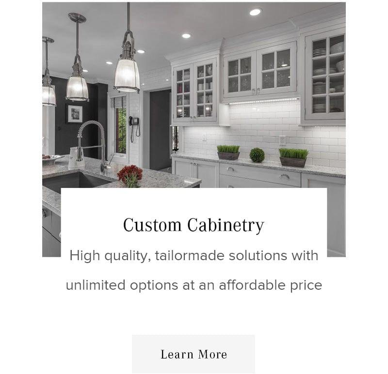 Custom Kitchen Cabinets Ottawa: Custom Home Design Build & Contractor