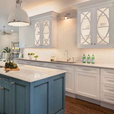 OakWood Kitchen Renovation Custom Cabinetry