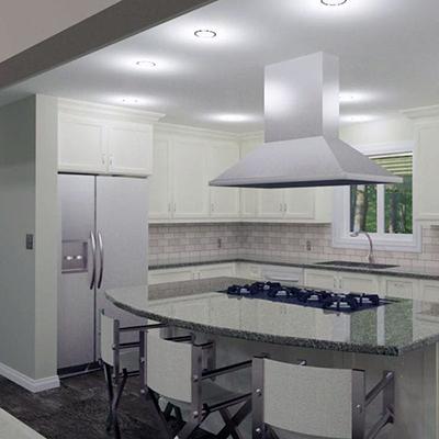 OakWood Kitchen Renovation In house design
