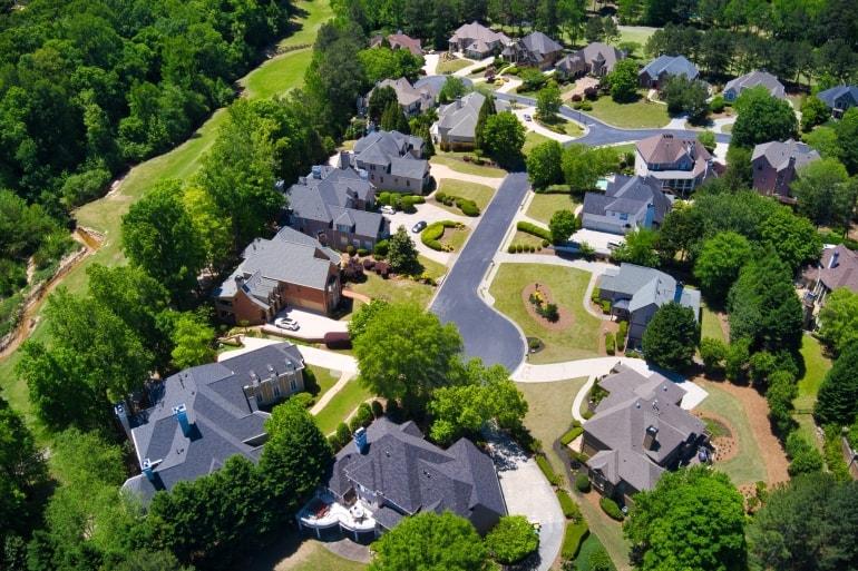 March Crest Estates Lot Plan