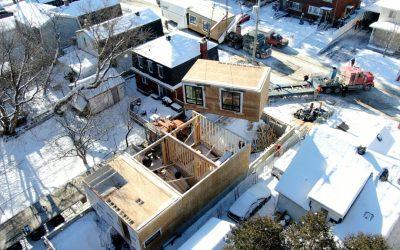 OakWood Uses Modular Building Technology on Semi-Detached