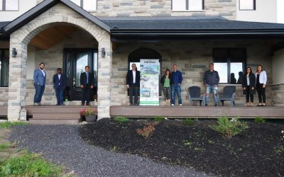OakWood celebrates becoming a qualified Net Zero Home Builder