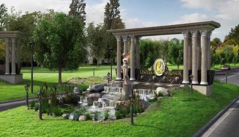 Onassa Springs Lot Plan