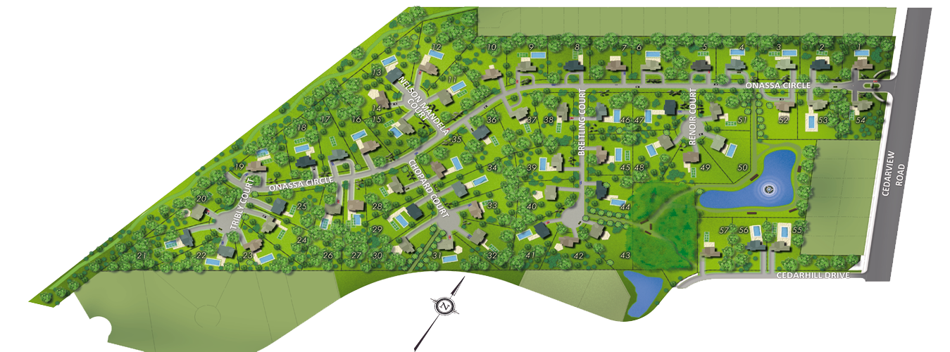 Onessa Springs Lot Plan